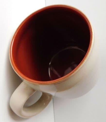 Vintage ceramic mug from Cockington Forge souvenir of Torquay Torbay Devon